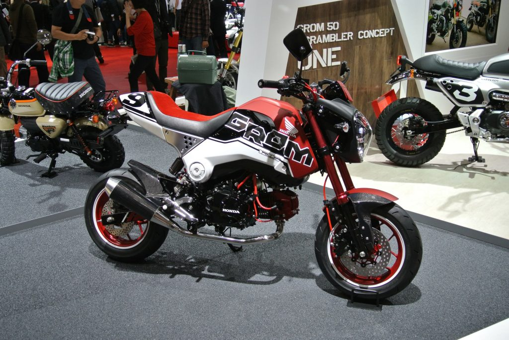 Honda Grom as one of the good motorcycle for novices.