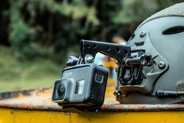 How To Install Camera On Motorcycle Helmet