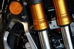 Suspension of of Honda Gold Wing and Yamaha Star Venture