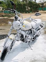 Wash Your Motorcycle