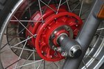 Wash the Motorcycle's Wheels and Spokes