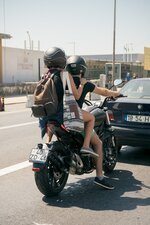 What Should a pillion hold