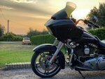 Aesthetic and Looks of HARLEY ROAD GLIDE and HONDA GOLD WING