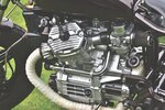 Dry the motorcycle compression Cylinder