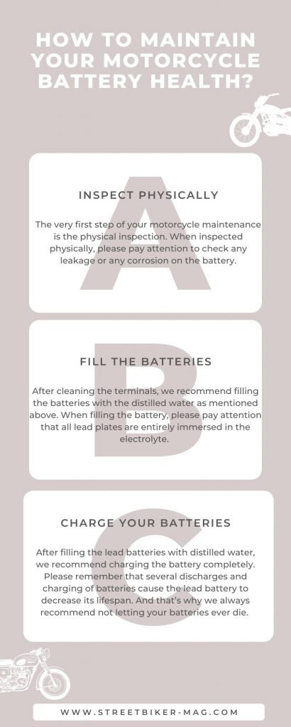 How to Maintain Your Motorcycle Battery Health?