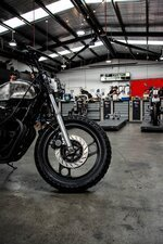 Motorcycle service center