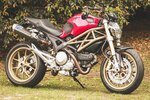 Seating of Ducati monster and Triumph Street Triple