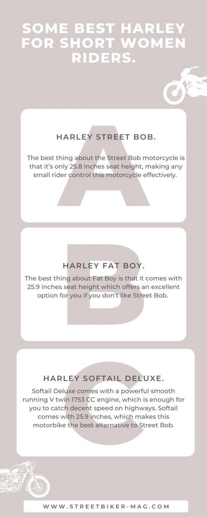 What is a Good Size Harley for a Woman?
