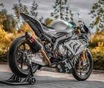 Looks of BMW S1000 RR motorcycle