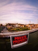 Private property to practice motorcycle ride