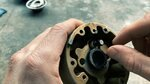 Uncoiling the old stator